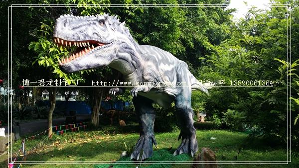 恐龙展出实景拍摄