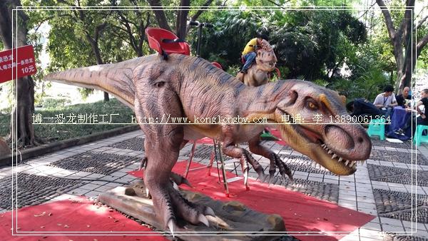 博一恐龙展出供应:5米霸王龙骑龙