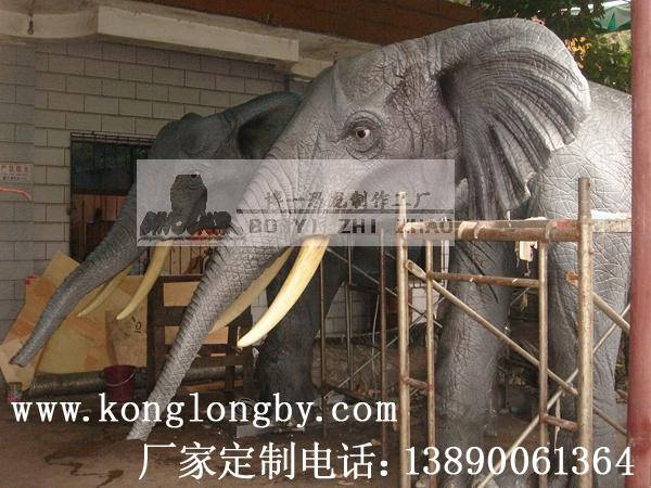 仿真动物模型——3米大象