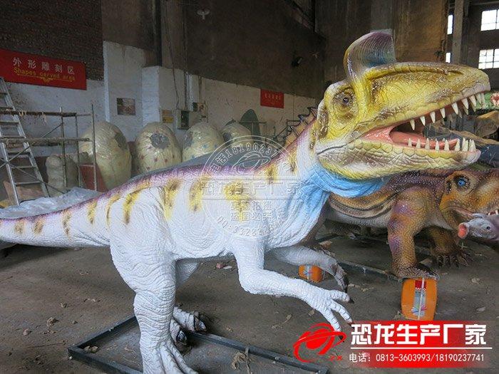 机械恐龙制作工厂——3米冰脊龙